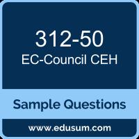 CEH Dumps, 312-50 Dumps, 312-50 PDF, CEH VCE, EC-Council 312-50 VCE, EC-Council CEH v10 PDF