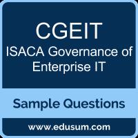 CGEIT Study Materials - m.isaca.org