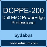 PowerEdge Professional PDF, DCPPE-200 Dumps, DCPPE-200 PDF, PowerEdge Professional VCE, DCPPE-200 Questions PDF, Dell EMC DCPPE-200 VCE