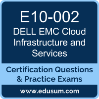 Cloud Infrastructure and Services Dumps, Cloud Infrastructure and Services PDF, E10-002 PDF, Cloud Infrastructure and Services Braindumps, E10-002 Questions PDF, Dell EMC E10-002 VCE, Dell EMC DECA-CIS Dumps, Dell EMC EMCCIS Dumps, Dell EMC EMCCIS Dumps,