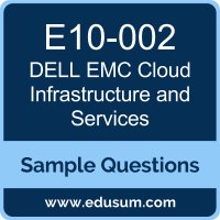 Cloud Infrastructure and Services Dumps, E10-002 Dumps, E10-002 PDF, Cloud Infrastructure and Services VCE, Dell EMC E10-002 VCE, Dell EMC DECA-CIS PDF, Dell EMC EMCCIS PDF, Dell EMC EMCCIS PDF