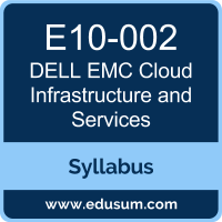 Cloud Infrastructure and Services PDF, E10-002 Dumps, E10-002 PDF, Cloud Infrastructure and Services VCE, E10-002 Questions PDF, Dell EMC E10-002 VCE, Dell EMC DECA-CIS Dumps, Dell EMC DECA-CIS PDF, Dell EMC EMCCIS Dumps, Dell EMC EMCCIS PDF, Dell EMC EMCCIS Dumps, Dell EMC EMCCIS PDF