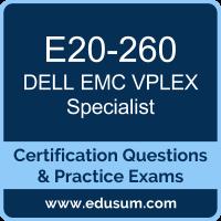 VPLEX Specialist Dumps, VPLEX Specialist PDF, E20-260 PDF, VPLEX Specialist Braindumps, E20-260 Questions PDF, Dell EMC E20-260 VCE, DCS-IE