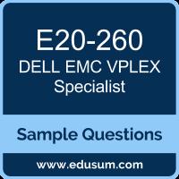 VPLEX Specialist Dumps, DCS-IE Dumps, E20-260 Dumps, E20-260 PDF, VPLEX Specialist VCE, Dell EMC E20-260 VCE, Dell EMC DCS-IE PDF