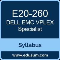 VPLEX Specialist PDF, E20-260 Dumps, E20-260 PDF, VPLEX Specialist VCE, E20-260 Questions PDF, Dell EMC E20-260 VCE, , Dell EMC DECS-IE Dumps, Dell EMC DCS-IE PDF