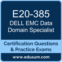 Data Domain Specialist Dumps, Data Domain Specialist PDF, E20-385 PDF, Data Domain Specialist Braindumps, E20-385 Questions PDF, Dell EMC E20-385 VCE, Dell EMC DECS-IE Dumps, Dell EMC EMCIE Dumps,
