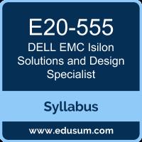 Isilon Solutions and Design Specialist PDF, E20-555 Dumps, E20-555 PDF, Isilon Solutions and Design Specialist VCE, E20-555 Questions PDF, Dell EMC E20-555 VCE, Dell EMC DECS-TA Dumps, Dell EMC DECS-TA PDF, Dell EMC DCS-TA Dumps, Dell EMC EMCTA PDF