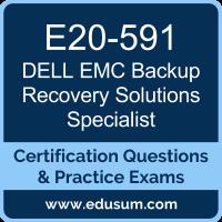 Backup Recovery Solutions Specialist Dumps, Backup Recovery Solutions Specialist PDF, E20-591 PDF, Backup Recovery Solutions Specialist Braindumps, E20-591 Questions PDF, Dell EMC E20-591 VCE, Dell EMC DECS-TA Dumps, Dell EMC EMCTA Dumps,