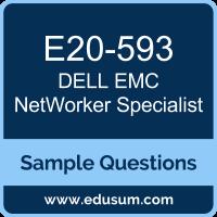 NetWorker Specialist Dumps, E20-593 Dumps, E20-593 PDF, NetWorker Specialist VCE, Dell EMC E20-593 VCE, Dell EMC DECS-IE PDF, Dell EMC DCS-IE PDF