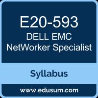 NetWorker Specialist PDF, E20-593 Dumps, E20-593 PDF, NetWorker Specialist VCE, E20-593 Questions PDF, Dell EMC E20-593 VCE, Dell EMC DECS-IE Dumps, Dell EMC DECS-IE PDF, Dell EMC DCS-IE Dumps, Dell EMC DCS-IE PDF