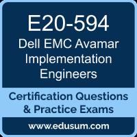 Avamar Specialist Dumps, Avamar Specialist PDF, E20-594 PDF, Avamar Specialist Braindumps, E20-594 Questions PDF, Dell EMC E20-594 VCE, Dell EMC DECS-IE Dumps, Dell EMC DCS-IE Dumps,