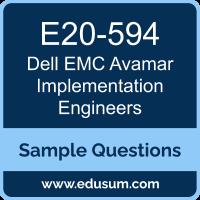 Avamar Specialist Dumps, E20-594 Dumps, E20-594 PDF, Avamar Specialist VCE, Dell EMC E20-594 VCE, Dell EMC DECS-IE PDF, Dell EMC DCS-IE PDF