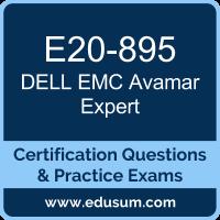 Avamar Expert Dumps, Avamar Expert PDF, E20-895 PDF, Avamar Expert Braindumps, E20-895 Questions PDF, Dell EMC E20-895 VCE, Dell EMC DECE-IE Dumps, Dell EMC EMCIEe Dumps,