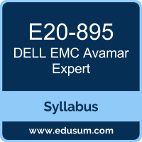 Avamar Expert PDF, E20-895 Dumps, E20-895 PDF, Avamar Expert VCE, E20-895 Questions PDF, Dell EMC E20-895 VCE, Dell EMC DECE-IE Dumps, Dell EMC DECE-IE PDF, Dell EMC DCE-IE Dumps, Dell EMC DCE-IE PDF