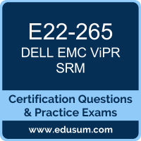 ViPR SRM Dumps, ViPR SRM PDF, E22-265 PDF, ViPR SRM Braindumps, E22-265 Questions PDF, Dell EMC E22-265 VCE, Dell EMC DEC-SRM Dumps, Dell EMC EMCSRM Dumps,