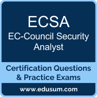 ECSA Dumps, ECSA PDF, ECSA Braindumps, EC-Council ECSA Questions PDF, EC-Council ECSA VCE, , EC-Council ECSA v10 Dumps