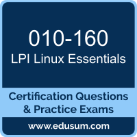 Linux Essentials Dumps, Linux Essentials PDF, 010-160 PDF, Linux Essentials Braindumps, 010-160 Questions PDF, LPI 010-160 VCE