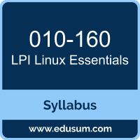 Linux Essentials PDF, 010-160 Dumps, 010-160 PDF, Linux Essentials VCE, 010-160 Questions PDF, LPI 010-160 VCE