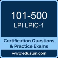 LPIC Level1 Dumps, LPIC Level1 PDF, 101-500 PDF, LPIC Level1 Braindumps, 101-500 Questions PDF, Lpi 101-500 VCE