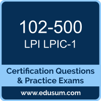 LPIC Level1 Dumps, LPIC Level1 PDF, 102-500 PDF, LPIC Level1 Braindumps, 102-500 Questions PDF, Lpi 102-500 VCE