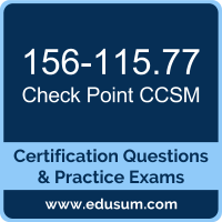 CCSM Dumps, CCSM PDF, 156-115.77 PDF, CCSM Braindumps, 156-115.77 Questions PDF, Check Point 156-115.77 VCE, Check Point CCSM R77 Dumps