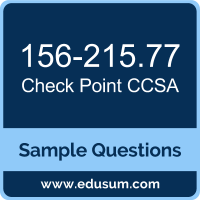 CCSA Dumps, 156-215.77 Dumps, 156-215.77 PDF, CCSA VCE, Check Point 156-215.77 VCE, Check Point CCSA R77 PDF