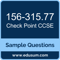 CCSE Dumps, 156-315.77 Dumps, 156-315.77 PDF, CCSE VCE, Check Point 156-315.77 VCE, Check Point CCSE R77 PDF