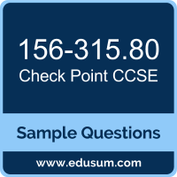 CCSE Dumps, 156-315.80 Dumps, 156-315.80 PDF, CCSE VCE, Check Point 156-315.80 VCE, Check Point CCSE R80 PDF