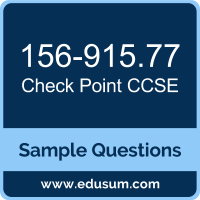 CCSE Dumps, 156-915.77 Dumps, 156-915.77 PDF, CCSE VCE, Check Point 156-915.77 VCE, Check Point CCSE R77 PDF