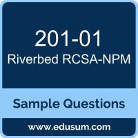 RCSA-NPM Dumps, 201-01 Dumps, 201-01 PDF, RCSA-NPM VCE, Riverbed 201-01 VCE, Riverbed Network Performance Management Associate PDF