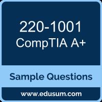 A+ Dumps, 220-1001 Dumps, 220-1001 PDF, A+ VCE, CompTIA 220-1001 VCE, CompTIA A Plus (Core 1) PDF