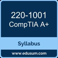 A+ PDF, 220-1001 Dumps, 220-1001 PDF, A+ VCE, 220-1001 Questions PDF, CompTIA 220-1001 VCE, CompTIA A Plus (Core 1) Dumps, CompTIA A Plus (Core 1) PDF
