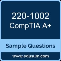 A+ Dumps, 220-1002 Dumps, 220-1002 PDF, A+ VCE, CompTIA 220-1002 VCE, CompTIA A Plus (Core 2) PDF