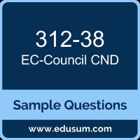 CND Dumps, 312-38 Dumps, 312-38 PDF, CND VCE, EC-Council 312-38 VCE, EC-Council CND v2 PDF