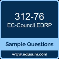 EDRP Dumps, 312-76 Dumps, 312-76 PDF, EDRP VCE, EC-Council 312-76 VCE, EC-Council EDRP v3 PDF