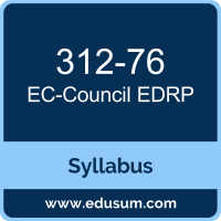 EDRP PDF, 312-76 Dumps, 312-76 PDF, EDRP VCE, 312-76 Questions PDF, EC-Council 312-76 VCE, EC-Council EDRP v3 Dumps, EC-Council EDRP v3 PDF