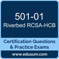 RCSA-HCB Dumps, RCSA-HCB PDF, 501-01 PDF, RCSA-HCB Braindumps, 501-01 Questions PDF, Riverbed 501-01 VCE, Riverbed Hyper-converged Branch Associate Dumps
