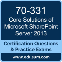 Core Solutions of Microsoft SharePoint Server 2013 Dumps, Core Solutions of Microsoft SharePoint Server 2013 PDF, 70-331 PDF, Core Solutions of Microsoft SharePoint Server 2013 Braindumps, 70-331 Questions PDF, Microsoft 70-331 VCE, Microsoft MCSE Productivity Dumps