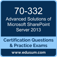 Advanced Solutions of Microsoft SharePoint Server 2013 Dumps, Advanced Solutions of Microsoft SharePoint Server 2013 PDF, 70-332 PDF, Advanced Solutions of Microsoft SharePoint Server 2013 Braindumps, 70-332 Questions PDF, Microsoft 70-332 VCE, Microsoft MCSE Productivity Dumps