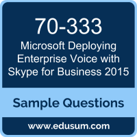 Deploying Enterprise Voice with Skype for Business 2015 Dumps, 70-333 Dumps, 70-333 PDF, Deploying Enterprise Voice with Skype for Business 2015 VCE, Microsoft 70-333 VCE, Microsoft MCSE Productivity Solutions Expert PDF