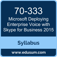 Deploying Enterprise Voice with Skype for Business 2015 PDF, 70-333 Dumps, 70-333 PDF, Deploying Enterprise Voice with Skype for Business 2015 VCE, 70-333 Questions PDF, Microsoft 70-333 VCE, Microsoft MCSE Productivity Solutions Expert Dumps, Microsoft MCSE Productivity Solutions Expert PDF