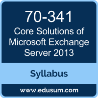Core Solutions of Microsoft Exchange Server 2013 PDF, 70-341 Dumps, 70-341 PDF, Core Solutions of Microsoft Exchange Server 2013 VCE, 70-341 Questions PDF, Microsoft 70-341 VCE, Microsoft MCSE Productivity Dumps, Microsoft MCSE Productivity PDF