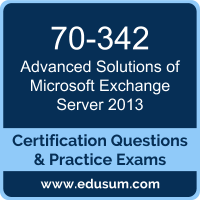 Advanced Solutions of Microsoft Exchange Server 2013 Dumps, Advanced Solutions of Microsoft Exchange Server 2013 PDF, 70-342 PDF, Advanced Solutions of Microsoft Exchange Server 2013 Braindumps, 70-342 Questions PDF, Microsoft 70-342 VCE, Microsoft MCSE Productivity Dumps