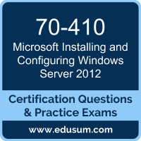 Installing and Configuring Windows Server 2012 Dumps, Installing and Configuring Windows Server 2012 PDF, 70-410 PDF, Installing and Configuring Windows Server 2012 Braindumps, 70-410 Questions PDF, Microsoft 70-410 VCE, Microsoft MCSA Windows Server 2012 Dumps