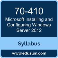Installing and Configuring Windows Server 2012 PDF, 70-410 Dumps, 70-410 PDF, Installing and Configuring Windows Server 2012 VCE, 70-410 Questions PDF, Microsoft 70-410 VCE, Microsoft MCSA Windows Server 2012 Dumps, Microsoft MCSA Windows Server 2012 PDF