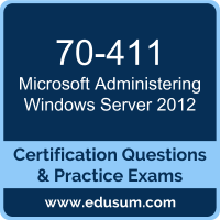 Administering Windows Server 2012 Dumps, Administering Windows Server 2012 PDF, 70-411 PDF, Administering Windows Server 2012 Braindumps, 70-411 Questions PDF, Microsoft 70-411 VCE, Microsoft MCSA Windows Server 2012 Dumps