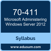 Administering Windows Server 2012 PDF, 70-411 Dumps, 70-411 PDF, Administering Windows Server 2012 VCE, 70-411 Questions PDF, Microsoft 70-411 VCE, Microsoft MCSA Windows Server 2012 Dumps, Microsoft MCSA Windows Server 2012 PDF