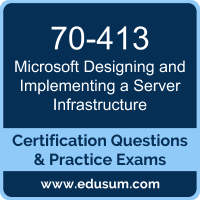 Designing and Implementing a Server Infrastructure Dumps, Designing and Implementing a Server Infrastructure PDF, 70-413 PDF, Designing and Implementing a Server Infrastructure Braindumps, 70-413 Questions PDF, Microsoft 70-413 VCE, Microsoft MCSE Core Infrastructure Dumps
