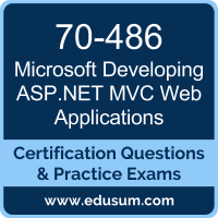 Developing ASP.NET MVC Web Applications Dumps, Developing ASP.NET MVC Web Applications PDF, 70-486 PDF, Developing ASP.NET MVC Web Applications Braindumps, 70-486 Questions PDF, Microsoft 70-486 VCE, Microsoft MCSA Web Applications Dumps