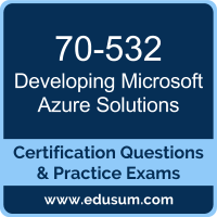 Developing Microsoft Azure Solutions Dumps, Developing Microsoft Azure Solutions PDF, 70-532 PDF, Developing Microsoft Azure Solutions Braindumps, 70-532 Questions PDF, Microsoft 70-532 VCE, Microsoft MCSA Cloud Platform Dumps